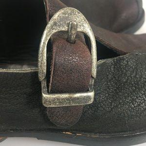 Cydwoq Shoes - Cydwoq Womens 35EU 5US Black Burgundy Loafers